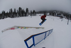 Stair Jump (Casey Jay) Tags: stairs poop snowboard boreal