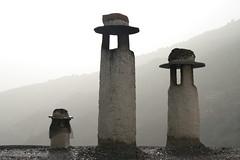 Chimneys (echiner1) Tags: fog granada chimeneas niebla chimneys alpujarras