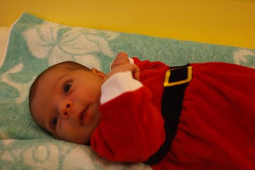 la piccola aiutante di Babbo Natale
