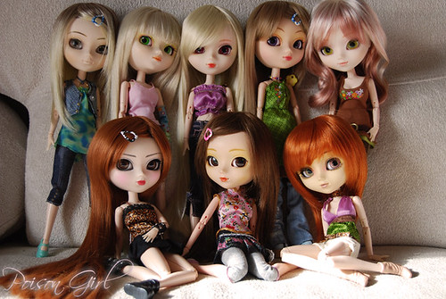 Pullip Family Pic - December 2008