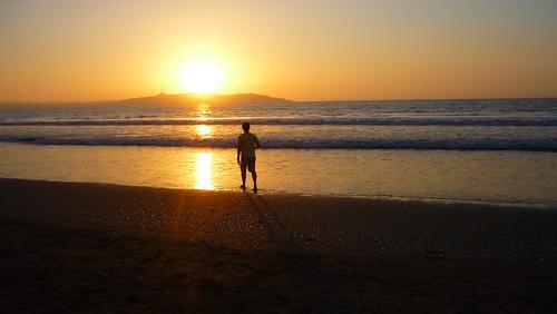Sol en Playa La Tabla