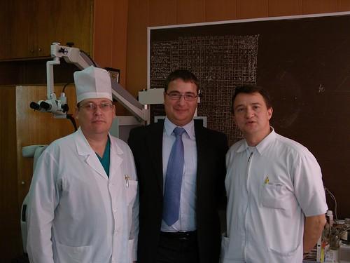 Первые ЛОР-хирурги с найшей навигацией