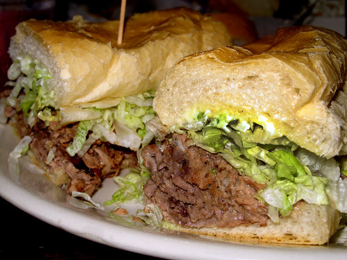 """Breath Taking Beef""  Po-boy"