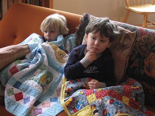 Watching Sesame Street by John Markos O'Neill