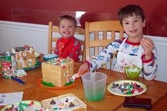 Ginger Bread House boys