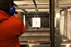"""Do I feel lucky?"" (the rowdy dog) Tags: gun pistol tonya reds shootingrange 9mm glock pflugervilletx"