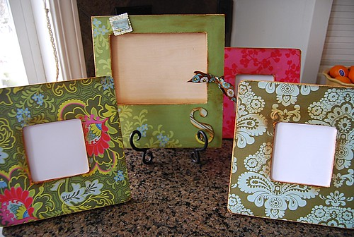 Getting Crafty - Picture Frames - Your Homebased Mom