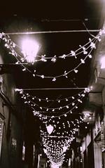 StarLights (esmusein) Tags: christmas street byn night buildings lights navidad luces calle edificios sonycybershot
