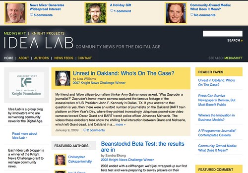MediaShift Idea Lab | PBS