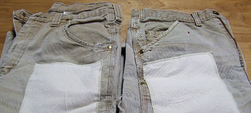 patching pants