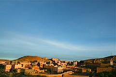 Todra gorge (RvDario) Tags: africa sunset nature beautiful view northafrica horizon bluesky arabic morocco berber arab maroc arabian moroccan tinerhir todragorge  almarib