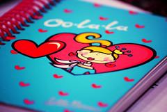 Love Diary (M ï M ï) Tags: pink blue red love girl heart diary january 18 2009 oolala