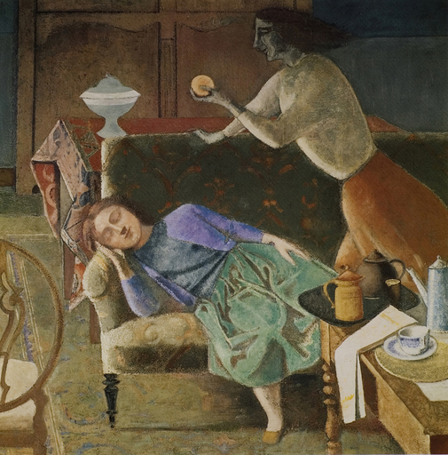 Balthus, The Golden Fruit, 1956