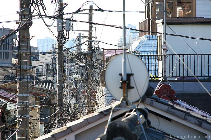 En Japón hace tiempo que superaron sus problemas con la fibra en el interior de los edificios