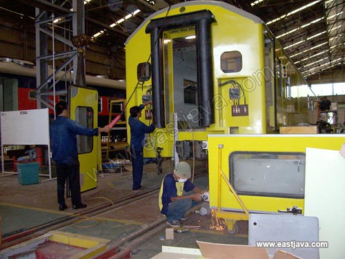 P.T. INKA (Indonesia Railway Industry) - Madiun - East Java