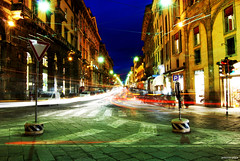 Urban Lights (antonio.pitta) Tags: urban night lights bologna luci antonio notte pitta sera citt colourartaward fotografinewitaliangeneration