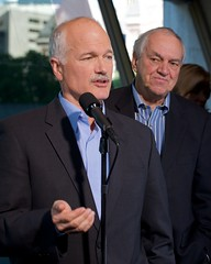 Jack Layton and Ed Broadbent take Questions