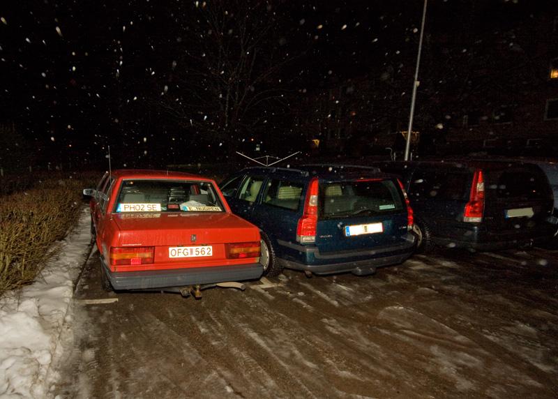 bra parkering där