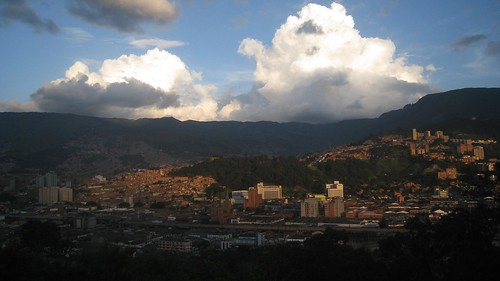 Just one of the many views of Medellin