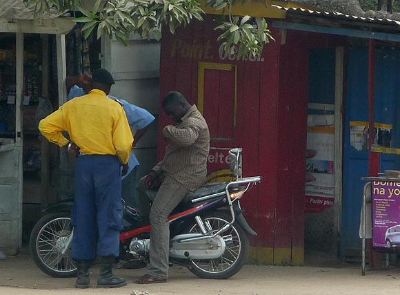 Un roulage se faisant corrompre à Kisangani