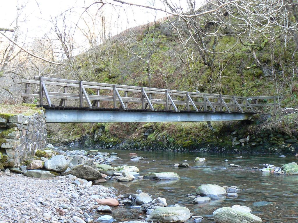 Bridge across the Abhainn Chonaig