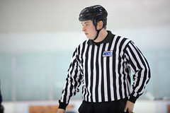 Linesman Brett Martin (mark6mauno) Tags: brettmartin brett martin linesman westernstateshockeyleague western states hockey league wshl 200809 glacialgardens glacial gardens nikkor 70200mmf28gvr nikond3 nikon d3