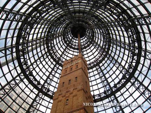 melbourne central coop's shot tower