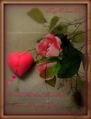 Happy Valentines Day To All Of You ,My  Special Flickr-Friends, ;
