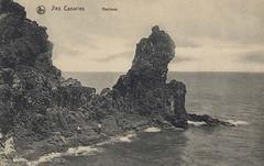 Roque en zona norte de Los Silos 1910