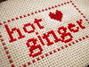 Hot Ginger! (Stitch Out Loud) Tags: red ginger crossstitch craft redhead hotginger stitchoutloud