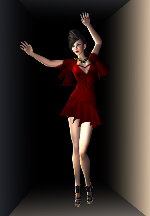 Glam Affair 10 Linden Red Dress