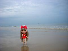 Cherish loves Hua Hin beach:)