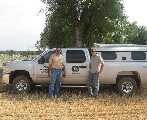 John Deere Harvester works customer support