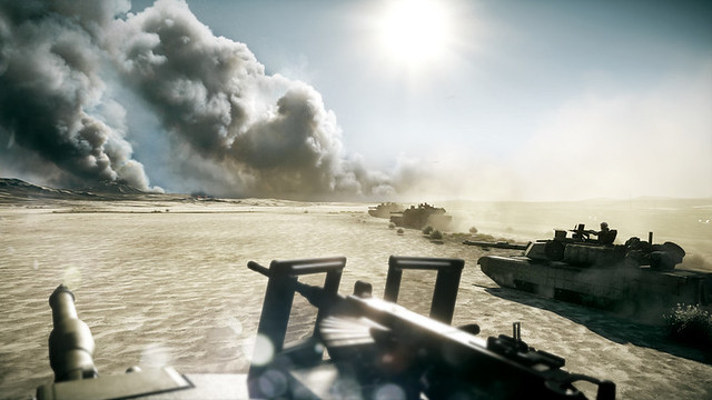 Battlefield 3 - That's some draw distance