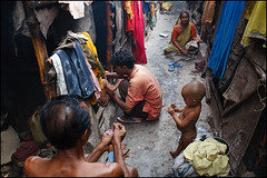 slum lane - Kolkata (Maciej Dakowicz) Tags: poverty life street travel people india hope poor lane kolkata calcutta slum ngo slums shantytown westbengal needmagzaine