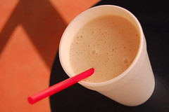 20080310 Peach Coffee Shake
