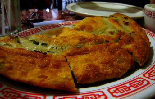 Scallion Pancake from China Palace - oh yes.
