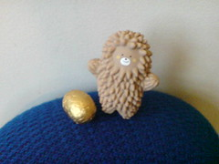 Last chocolate egg by Galler and Easter is over ... (ellevegas) Tags: chocolate egg galler egges treeson
