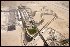 F1 Track @2000FT (Andy Nettleton) Tags: cars race canon one 1 photo bahrain tv track bell flight 206 sigma cockpit f1 aerial racing helicopter formula instruments communications wescam 70mm 17mm 2000ft 40d