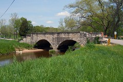 Stone bridge, Michigan Road
