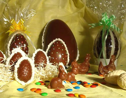 Receta para hacer huevos de pascua.. facil y divertida