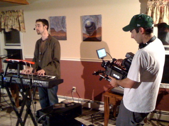 Matthew Ebel Livingroom Concert with RED Camera