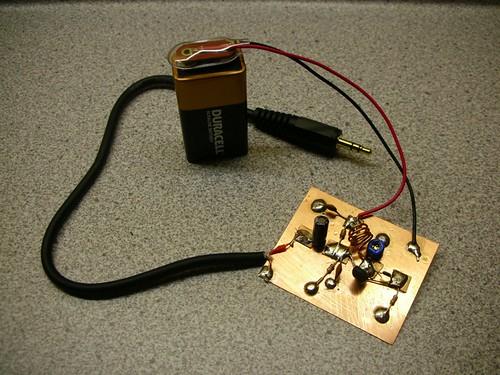 Eric's mini-FM transmitter