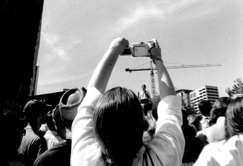 reportage project (Obama Rally)