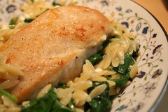 chicken with spinach and feta