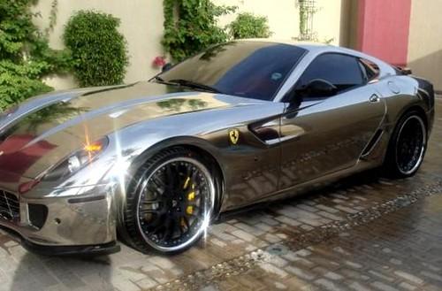 Chrome Ferrari 599 GTB Fiorano