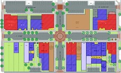 site plan for Crown Square redevelopment (image courtesy of Old North Saint Louis)