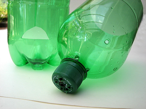 Pop bottle pot (the two parts)