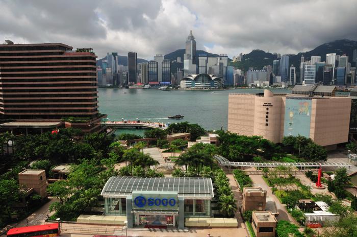 香港喜來登海景房視野