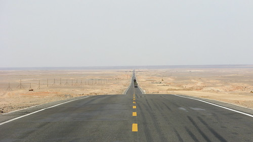 Endless (National Highway 312 between Lotojue and Xinxinxia, Xinjiang Province, China)